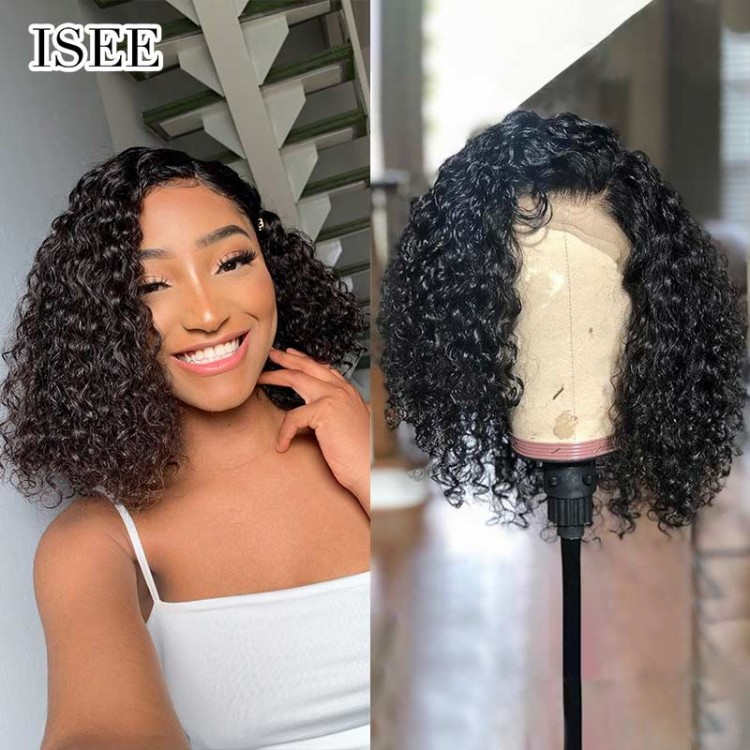 Short Curly Bob Wigs with Bouncy Curls, 1
